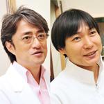 西脇 俊二院長、小峰 博生先生
