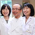 松岡 慎 院長、松岡 京子 副院長、松井 永子 先生