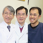 浅野 浩院長、武 千春副院長、新井 大先生