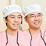 柳沢 英明院長、大澤 和也副院長