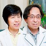 松田 州弘院長、松田 敬子副院長