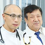 篠田 毅院長、河西 竜太先生