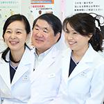 戸田 憲一 院長、松島 佐都子 先生、中島 利栄子 先生