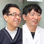 小川 佳伸 院長、山田 理 副院長