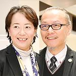 田中 郁子 理事長、玉置 繁憲 院長