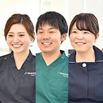 植田 憲太郎院長、吉田 可奈子先生、上野 遥香さん