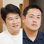 天野 大 院長、疋田 佳希 さん