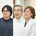 大嶋 一徳院長、大嶋 太郎副院長、藤田 由佳先生