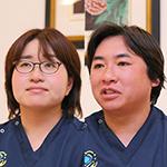 飯嶋 恵理 院長、飯嶋 一侑樹 先生