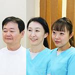 井川 淳一院長、井川 由紀さん、斉藤 侑子さん
