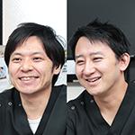 鈴木  裕介院長、石井  洋介先生
