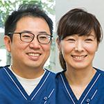 小澤  佑介 院長、小澤 かおり 副院長