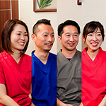 神谷 玄治院長、中田 雄介先生、本橋 宏美先生、樋口 淑子先生