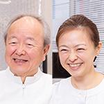 清田 耕造 院長、清田 幸子 先生