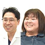 上田 裕介先生、岩切 裕美さん