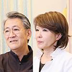 前田 純子 院長、前田 宗利 副院長