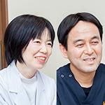 関川 昭 院長、関川 知恵 副院長