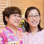 鈴木 さち代 院長、飯田 美和子 副院長
