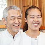 宮下 裕志 理事長、三浦 杏奈 副院長