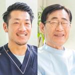 岡本 茂男 院長、岡本 賢和 副院長