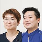 福山 貴之 院長、秋田 千栄 さん
