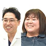 上田 裕介 先生、岩切 裕美 さん
