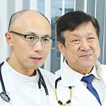 篠田 毅 院長、河西 竜太 先生