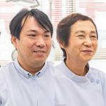 菅原 徳江 院長、菅原 豊太郎 副院長