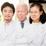 河津捷二先生、吉田洋子先生、櫛山暁史先生