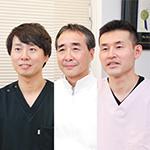 中川 守正 院長、谷田部 一大 先生、中川 裕大 先生
