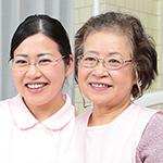岡部 浩子 理事長、青柳 暁子 副理事長