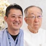 柴田 穣一院長、柴田 浩之副院長