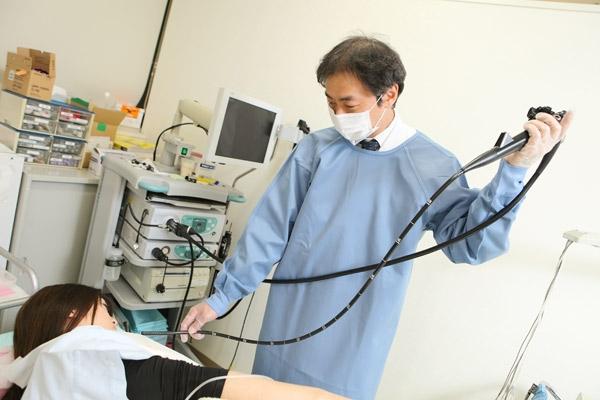 苦痛が少なく、精度も秀逸鎮静剤使用の色素内視鏡検査