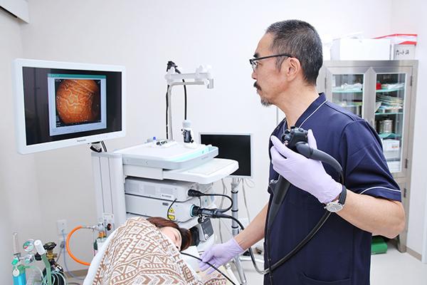 1日で気軽に胃と腸をチェック専門の医師による内視鏡検査