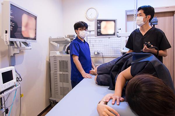 痛みの少ない大腸内視鏡検査予約なしでも当日検査が可能!