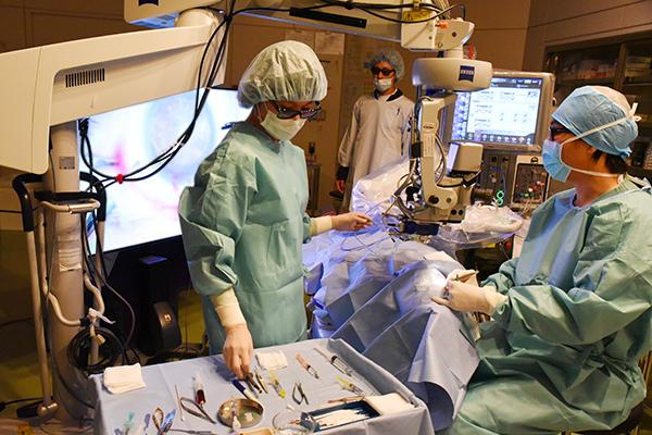 日帰りと入院が選べる白内障手術