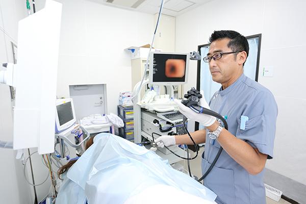 がんの予防や早期発見に役立つ痛みの少ない内視鏡検査