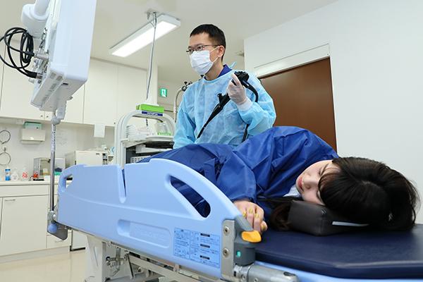 病気の早期発見につながる苦痛の少ない大腸内視鏡検査