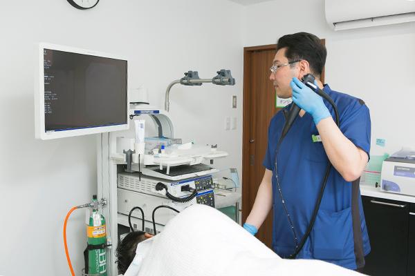 負担の少ない内視鏡検査で消化器疾患の早期発見につなげよう