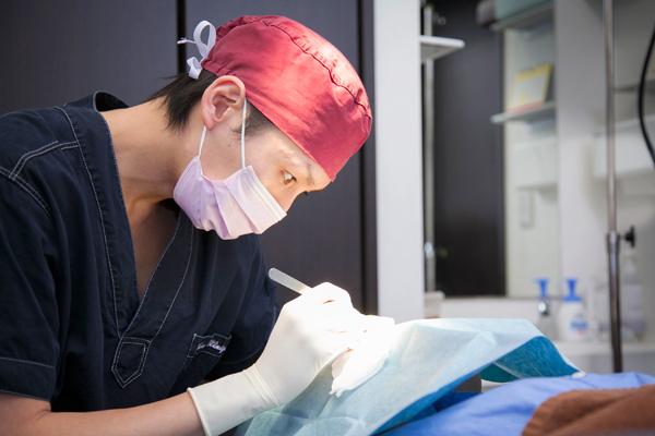 皮膚腫瘍、ホクロ除去等の手術皮膚科医ならではの美しい仕上がり