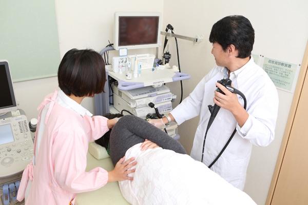 腹部エコー検査も受けられる痛みのない経口・経鼻内視鏡検査