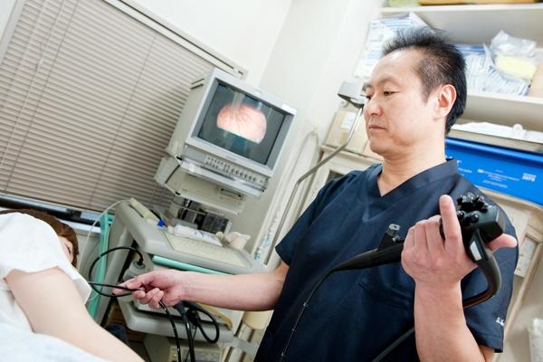 苦痛が少なく安心して受けられる経鼻内視鏡検査