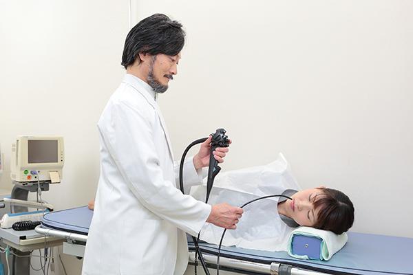 痛みと苦痛の少ない経鼻内視鏡