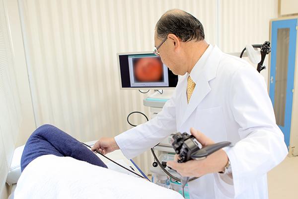 体に負担の少ない経鼻内視鏡検査がんや病変の早期発見が可能