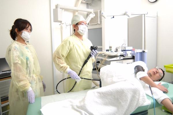 ポリープや悪性腫瘍を早期発見・早期治療大腸内視鏡検査