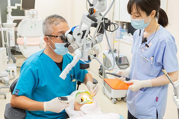 天然歯の保存を第一に優先精度にこだわった根管治療
