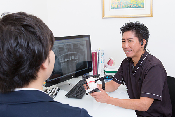 精密検査で口腔内全体を把握 患者主体の治療を実践