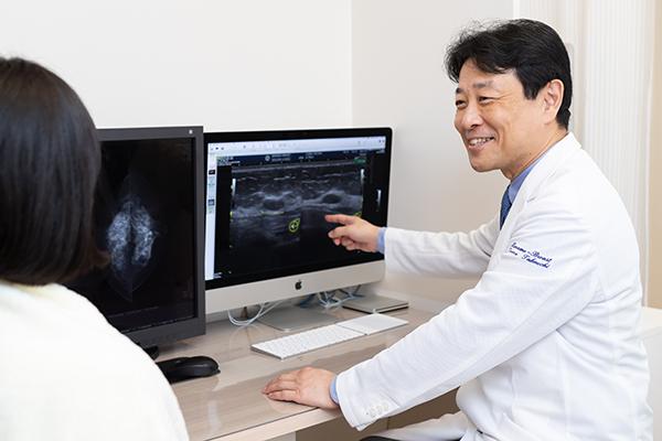 しこりを見つけたらまずは検査を早期治療の要となる乳がん検診