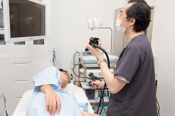 痛みやつらさも工夫次第胃・大腸の内視鏡検査