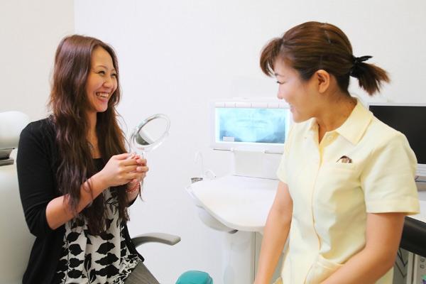 複数の虫歯もクリーニングも一日で完了!スピード治療